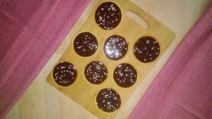 salted caramel and chocolate tarts